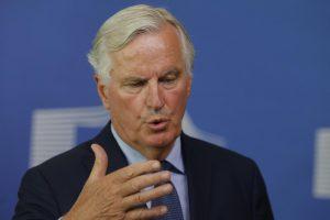 M. Barnier: ES pasirengusi su Didžiąja Britanija sudaryti beprecedentį susitarimą