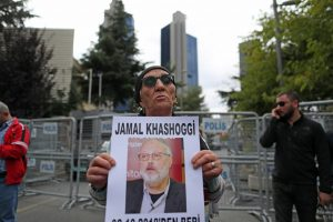 JAV paskelbė sankcijas 17 Saudo Arabijos piliečių, siejamų su K. Khashoggio nužudymu