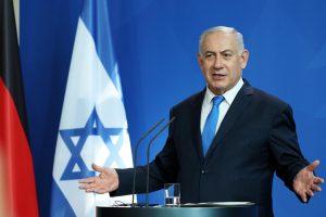 B. Netanyahu įspėjo Vokietiją: sustabdykite Iraną, arba laukite dar daugiau pabėgėlių
