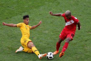 Peru futbolininkai nugalėjo Australiją