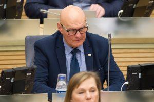 Seimo narį S. A. Nausėdą ištiko insultas
