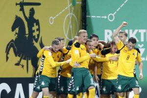 Pagaliau pergalė: Lietuvos rinktinė patiesė Maltos futbolininkus