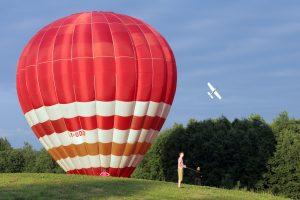 Kaunas perka oro balioną