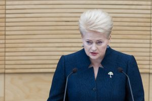 Seime – prezidentės siūlymas riboti valstybės įmonių vadovų kadencijas