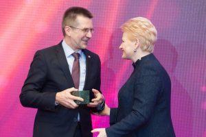 """VU komunikacijos kampanija """"Belaukiant Nobelio"""" – geriausia Baltijos šalyse"""