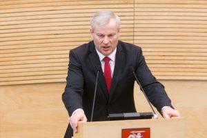 Socdemų draugijos atsisakęs M. Bastys mąsto apie sugrįžimą į Seimą