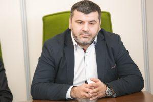 Atsistatydino A lygos direktorius R. Čekavičius