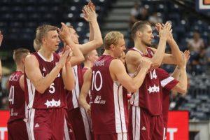 Olimpinius atrankos turnyrus pergalėmis pradėjo Latvijos ir Graikijos krepšininkai