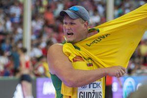 A. Gudžiaus prognozė – dėl medalių pasaulio čempionate kovos aštuoni metikai