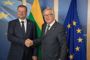 S. Skvernelis dėl ES finansavimo: yra perspektyvų pagerinti padėtį