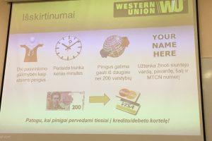 """""""Western Union"""" iš Piterboro į Vilnių perkels dalį darbo vietų"""