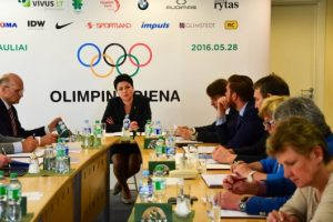 Olimpinė atranka artėja prie pabaigos