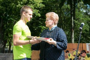 Plaukikas E. Matakas parolimpiadoje pagerino savo sezono rezultatą