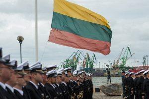 Lietuvos karinis laivynas švenčia 25 metų sukaktį