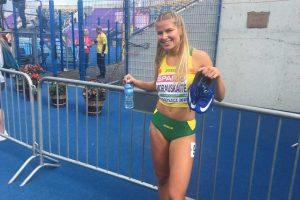 Europos U23 čempionatas: M. Morauskaitė tarsi žaibas įbėgo į finalą