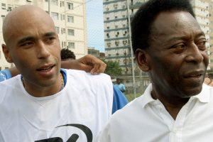 Nuteistas Brazilijos futbolo žvaigždės Pele sūnus laikinai paleidžiamas