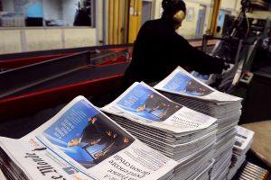 """Atsistatydino būrys prancūzų dienraščio """"Le Monde"""" redaktorių"""