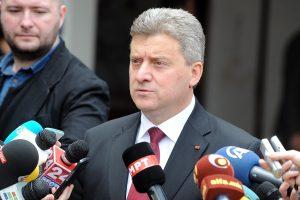 Makedonijos prezidentas nepasirašys naujos sutarties dėl valstybės vardo