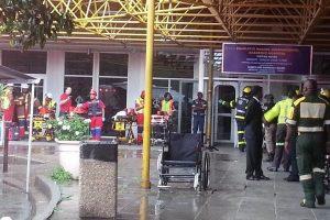 Pietų Afrikoje įgriuvus ligoninės stogui buvo sužeisti žmonės