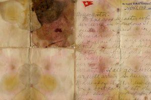 """Didžiojoje Britanijoje aukcione parduotas nuskendusio """"Titaniko"""" keleivio laiškas"""