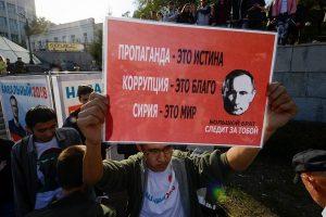 Kodėl Rusijos žiniasklaida Baltijos šalis vaizduoja su ypatinga pagieža?