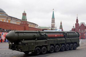 JAV: Rusijos veiksmai gali sužlugdyti svarbią nusiginklavimo sutartį