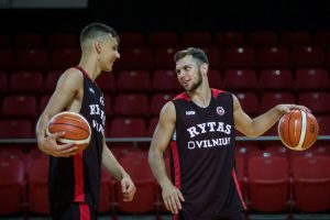 """""""Ryto"""" krepšininkai nesunkiai nugalėjo svečius iš Ukrainos"""