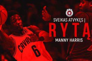 """""""Rytą"""" papildė NBA rungtyniavęs M. Harrisas"""