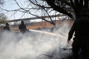 Latvijos šiaurėje ugniagesiai lokalizavo durpynų gaisrą
