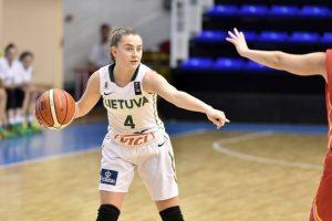 Lietuvos aštuoniolikmetės krepšininkės įveikė ispanes