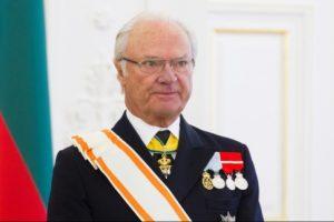 Švedijos karalius tostą kėlė už prezidentę, Lietuvą ir jos žmones
