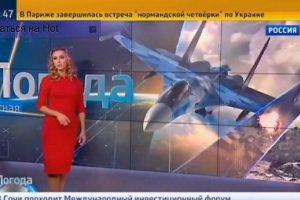 """Rusijos televizija prognozuoja """"gerą orą bombardavimams"""" Sirijoje"""