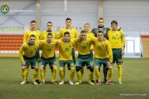 U-21 futbolo rinktinei nepavyko pasiekti revanšo prieš moldavus