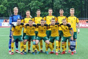 Lietuvos jaunimo futbolo rinktinė iškovojo Baltijos taurę