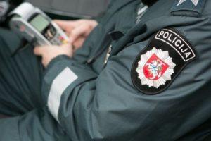 Girtas vyras Palangoje sužeidė policininką
