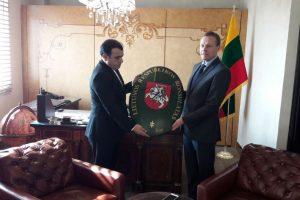 Irane atidaryta pirmoji Lietuvos diplomatinė institucija – garbės konsulatas