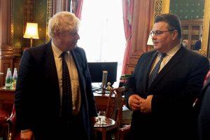 L. Linkevičius išreiškė solidarumą su Jungtine Karalyste