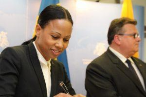 L. Linkevičius su Švedijos ministre aptarė žmogaus teisių klausimus