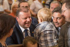 S. Skvernelis žada didesnę Vyriausybės paramą Lenkijos lietuviams