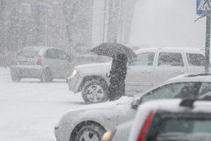 Artimiausiomis dienomis – sniegas ir lijundra