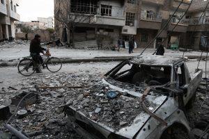 Sirijos kare – skirtingi įvairių valstybių interesai