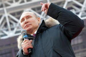 V. Putinas vėl prabilo apie SSRS ilgesį