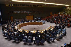 JT Saugumo Taryba nepritarė Rusijos siūlymui pasmerkti smūgius Sirijoje