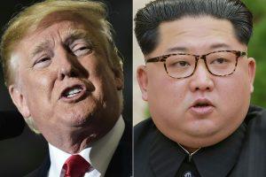 Nepatiko spaudimas: grasina atšaukti D. Trumpo ir Kim Jong Uno susitikimą