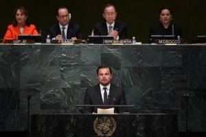 Holivudo žvaigždė L. DiCaprio pagyrė Paryžiaus klimato sutartį pasirašiusius lyderius