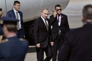 Rusijos prezidentas atvyko į Graikiją