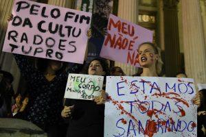 Brazilus šokiravo grupinis 16-metės išprievartavimas