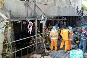 Pietų Korėjoje per griūtį metropoliteno statybose žuvo keturi darbininkai