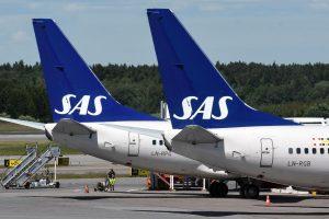SAS Švedijos pilotai sutiko nutraukti streiką
