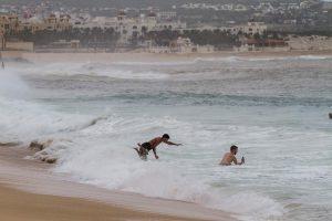 Uraganas Meksikoje pasiglemžė penkių žmonių gyvybes
